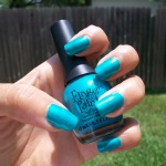 NOTD: Finger Paints' Art Dealer Teal-er