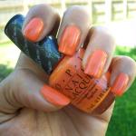 NOTD: OPI Tangerine Scene