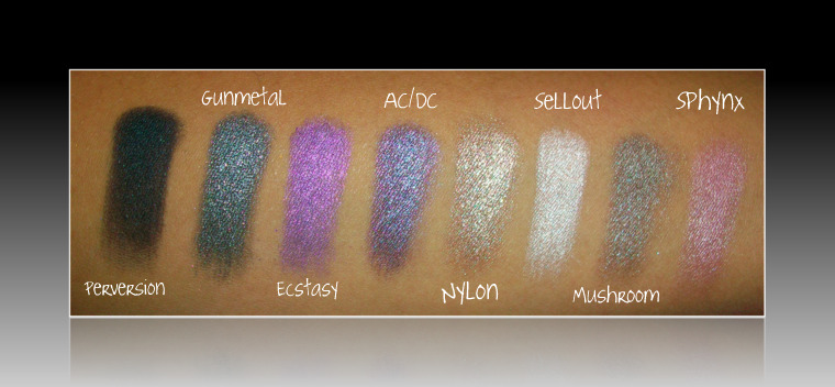 BOS II swatches a