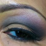 Smokey Eye Look: Browns, Grays, and Purples