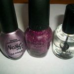 Nail Tutorial: Glittery Purple Ombre Nails For Spring