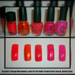 Beauty Chameleon's Favorites: Nailpolishes & Colors!