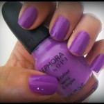 Sephora By OPI's Iris I was Thinner: NOTD