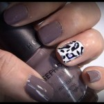 Art Club's Glam Instant Nails: Black, White & Bling