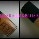 NARS Review: Sheer Glow & Sheer Matte Foundations