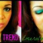 Color Trend: Emerald Eyeshadow tutorial