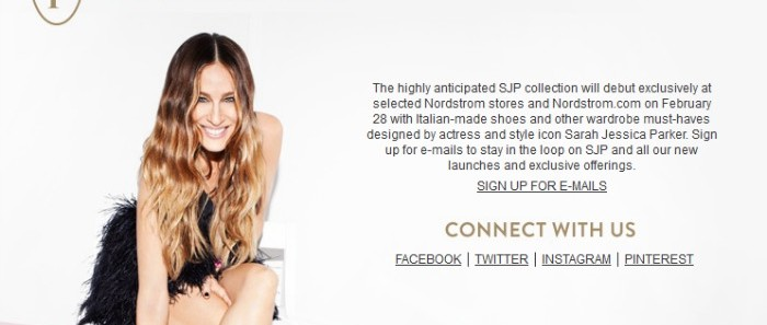 New Shoe Collection Launch By Sarah Jessica Parker!!