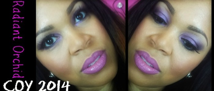 Color Of The Year 2014: Radiant Orchid Tutorial