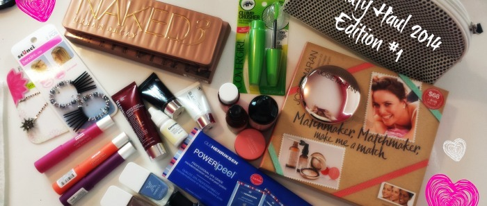 Beauty Haul 2014: Edition #1