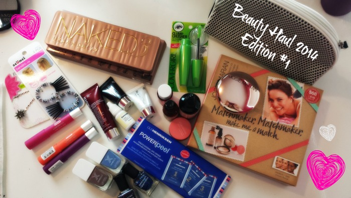 beauty haul 2014 1
