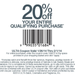 Ulta Beauty Discount Alert! 20% Off Your Entire Qualifying Purchase