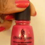NOTD: China Glaze's Strawberry Fields