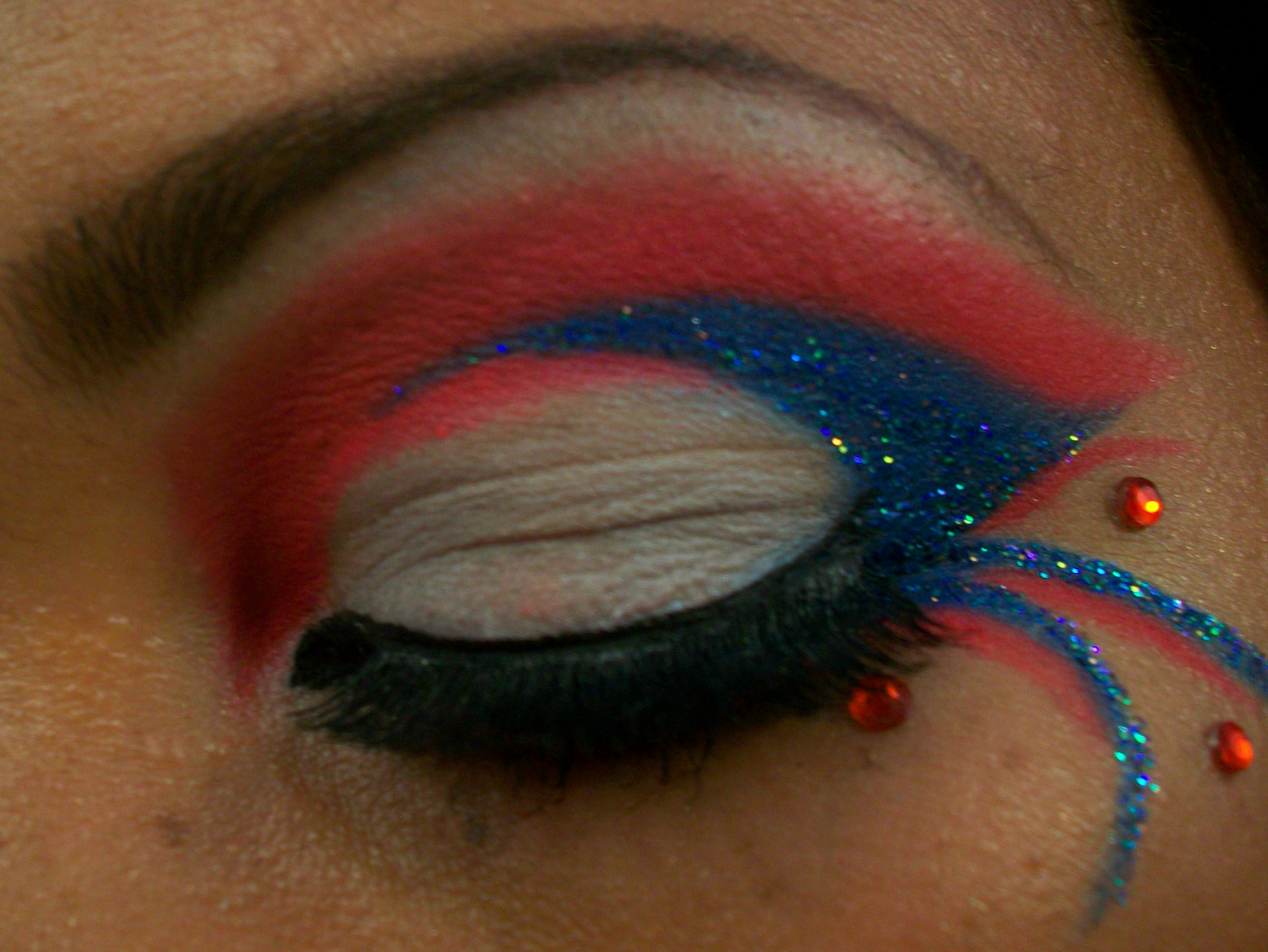 100 0595. 100 0595. Makeup Tutorial 4th Of July Inspired Eyes Beauty Chameleon -> Source ...