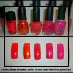 Beauty Chameleon's Favorites: Nailpolishes & Colors!