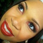 Christmas Makeup Tutorial: Smoky Red Look