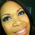 New Years Eve Makeup: Glittery Silvery Eyes