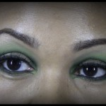 St. Patrick's Day Inspired Makeup: Dramatic Look