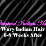 The Original Indian Hair Company: Wavy Indian Hair After 6-8 Weeks