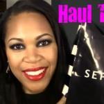 Last Sephora Haul Of 2011: Bare Escentuals, Philosophy & More!